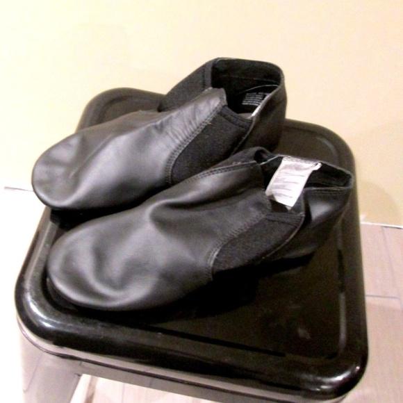 Women/'s 7 Slip On Split Sole Hip Hop Jazz Boot Dance Shoes NIB !